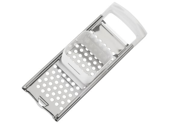 Spätzlehobel Kurz - Weiß, KONVENTIONELL, Kunststoff/Metall (33cm) - Fackelmann