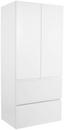 Midischrank Tress II - Weiß, KONVENTIONELL, Holzwerkstoff (60/130/33,5cm) - Luca Bessoni