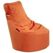 Outdoorsitzsack Slope Xs B: 60 cm Orange - Orange, Basics, Kunststoff (60/70/60cm) - Ambia Garden
