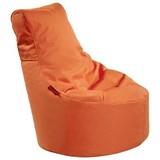 Outdoorsitzsack Slope Xs B: 60 cm Orange - Orange, Basics, Kunststoff (60/70/60cm) - Livetastic