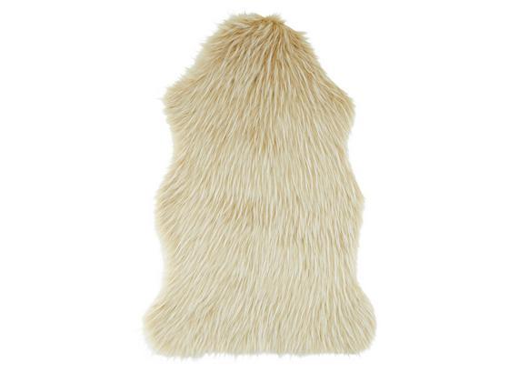 Umelá Kožušina Marina - biela/krémová, textil (60cm) - Modern Living