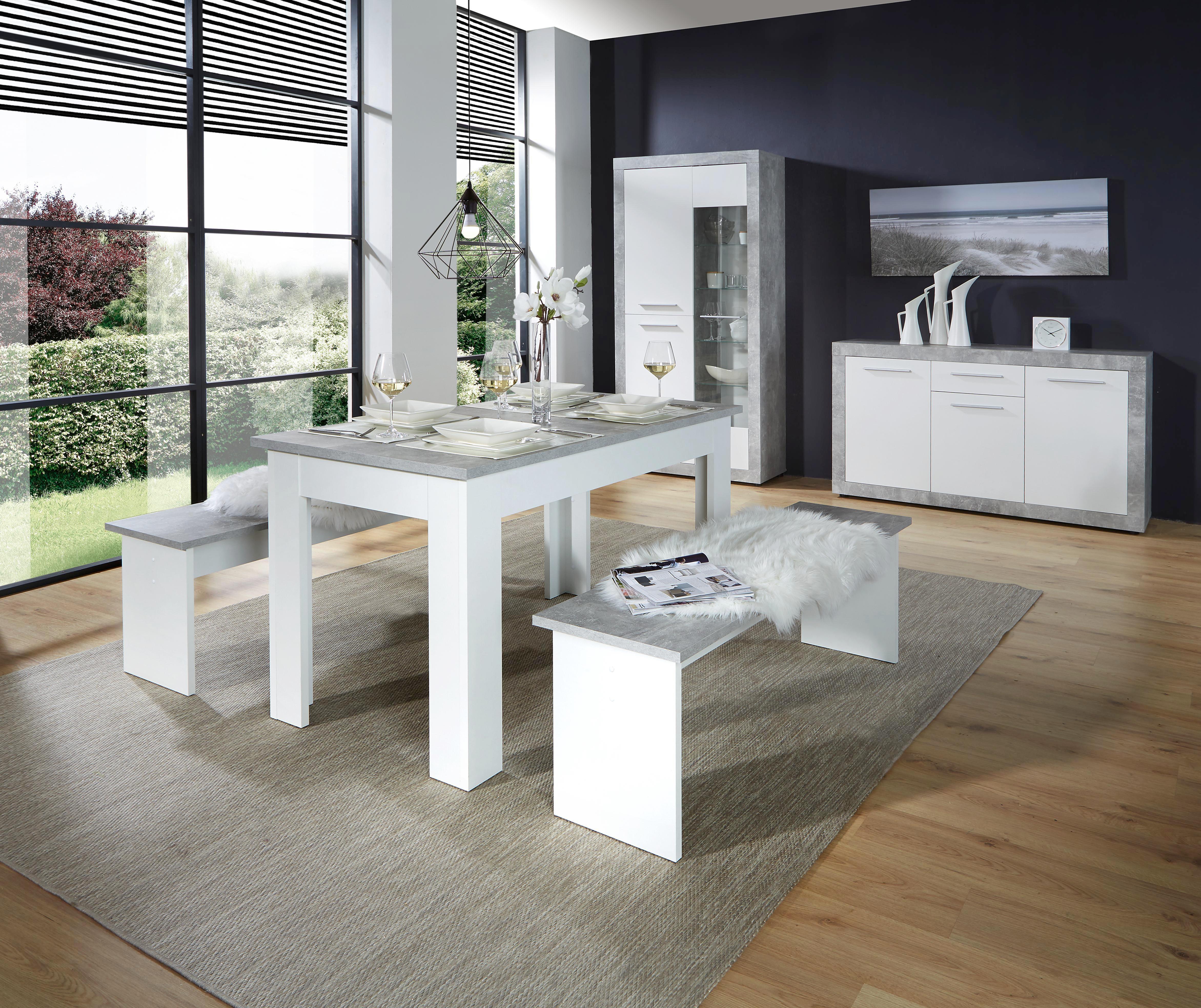 Komoda Sideboard Strada*cenový Trhák* - bílá, Konvenční, dřevěný materiál (149/86/41cm)