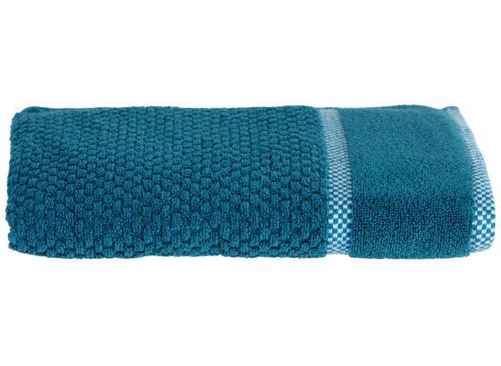 Handtuch Rocky - Petrol, ROMANTIK / LANDHAUS, Textil (50/100cm) - James Wood