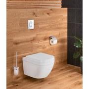 Grohe Badezimmerset Essentials WC Set 40407001 - Chromfarben, MODERN, Glas/Metall - Grohe