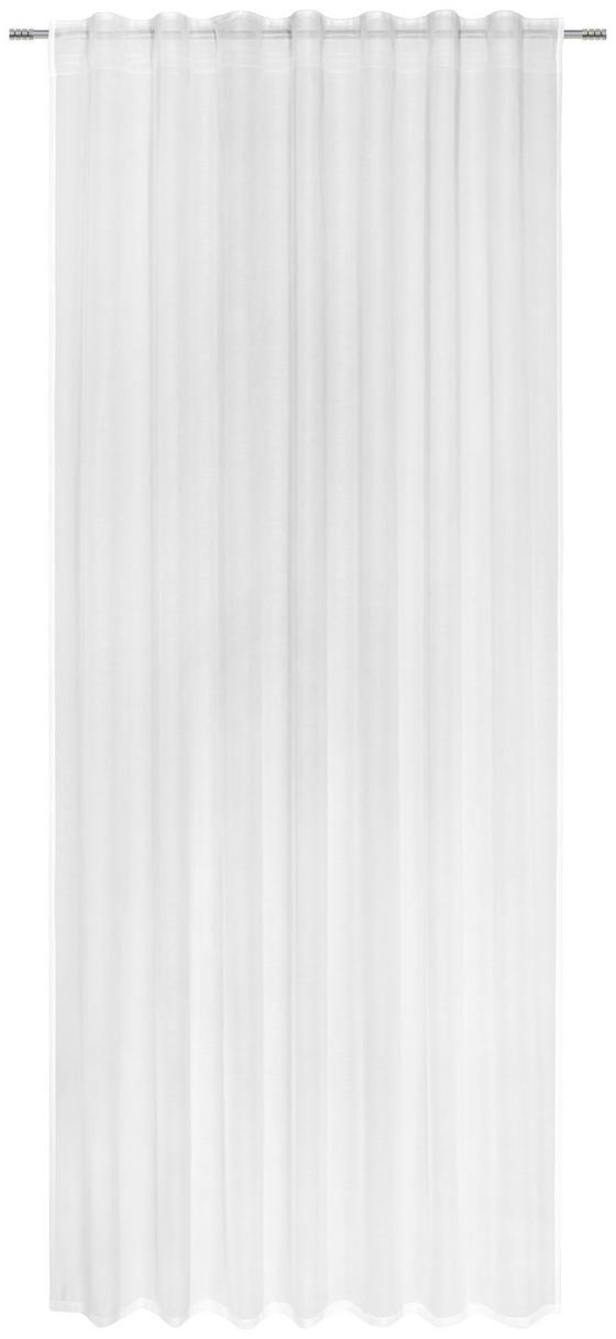 Kombinovaný Záves Leo Transparent 2 Ks - biela, Konvenčný, textil (140/255cm) - Premium Living