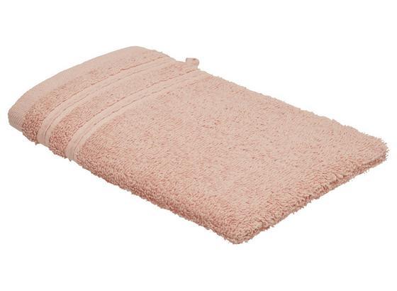 Rukavica Na Umývanie Melanie - ružová, textil (16/21cm) - Mömax modern living