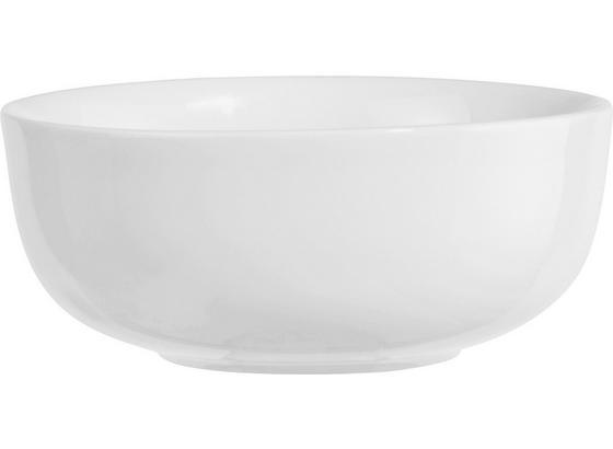Müslischale Felicia, D ca. 14cm - Weiß, KONVENTIONELL, Keramik (14cm) - Ombra