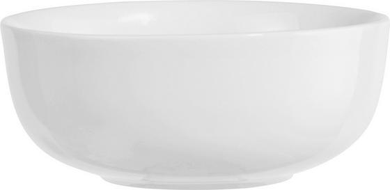 Müslischale Felicia - Weiß, KONVENTIONELL, Keramik (14cm) - Ombra