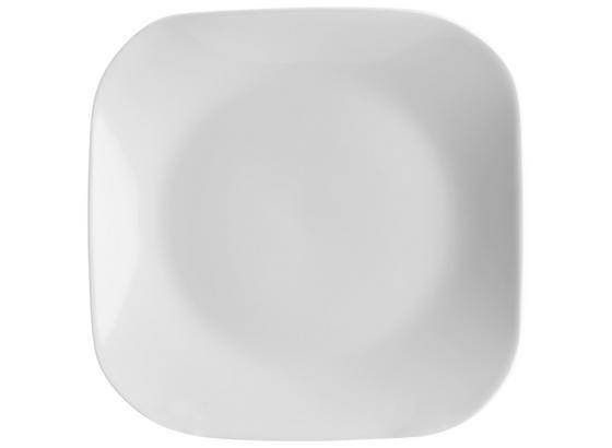 Dezertný Tanier Sid - biela, Moderný, keramika (21,7/18,4/2,1cm) - Mömax modern living