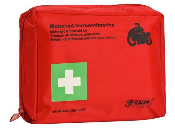 Kfz-Verbandtasche Kalff Motorrad - Kunststoff (14/5/11cm)