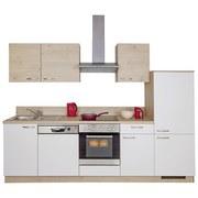 Küchenblock Win/plan 280cm Weiß/Wildeiche - Eichefarben/Weiß, MODERN, Holzwerkstoff (280cm) - Express