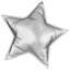 Polštář Ozdobný Stars - šedá/měděné barvy, textil (40/40cm) - Mömax modern living