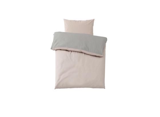 Povlečení Belinda Cca 140x200cm - růžová/světle šedá, textil (140/200cm) - Premium Living