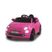 Kinderauto Ride-On Fiat 500 Pink - Pink/Silberfarben, Basics, Kunststoff (111/65/50cm)