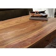 Couchtisch Holz Massiv Opium, Sheeshamfarben B:60cm - Sheeshamfarben, Design, Holz (110/60/40cm) - Livetastic