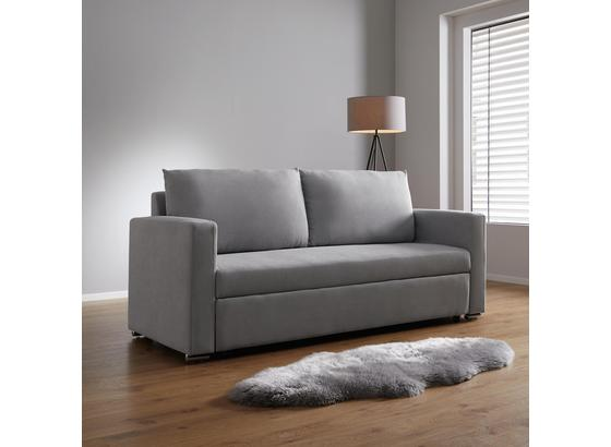 Pohovka Joe - světle šedá, Moderní, dřevo/textilie (206/93/152/73cm) - Mömax modern living