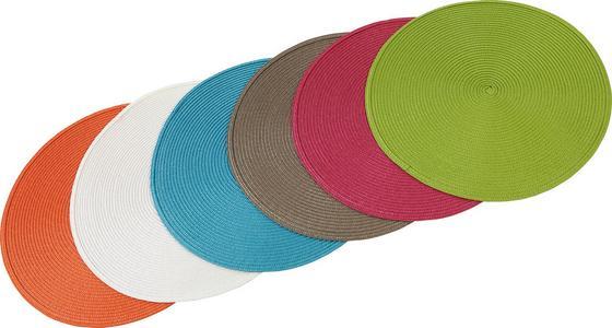 Tischset Nathalie - Multicolor, KONVENTIONELL, Kunststoff - Ombra
