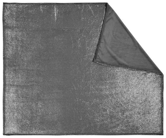 Deka Glitter - barvy stříbra, Konvenční, textil (150/200cm) - Mömax modern living