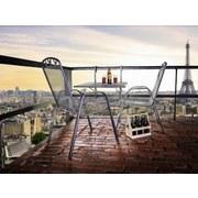 Balkonhängetisch Klappbar XL Toulouse B: 70 cm - Grau, Design, Metall (70/88/79cm) - Ambia Garden