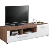 TV-Element Avensis - Eichefarben/Schwarz, MODERN, Holzwerkstoff (149,3/41,1/49,6cm) - Luca Bessoni