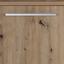 Kommode B 150cm Malta, Artisan Eiche/Beton Dekor - Dunkelgrau/Eichefarben, MODERN, Holzwerkstoff (150/90/38cm)