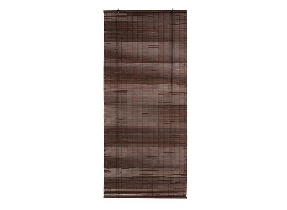 Roleta Woody - tmavohnedá, drevo (80/180cm) - Mömax modern living