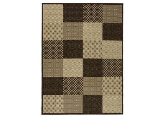 Flachwebeteppich Caro - Basics, Textil (60/110cm) - Ombra