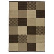 Flachwebeteppich Caro - Beige/Braun, Basics, Textil (120/170cm) - Ombra