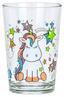 Trinkglas Malvine - Klar/Multicolor, Glas (6,8/9,9cm) - Ombra