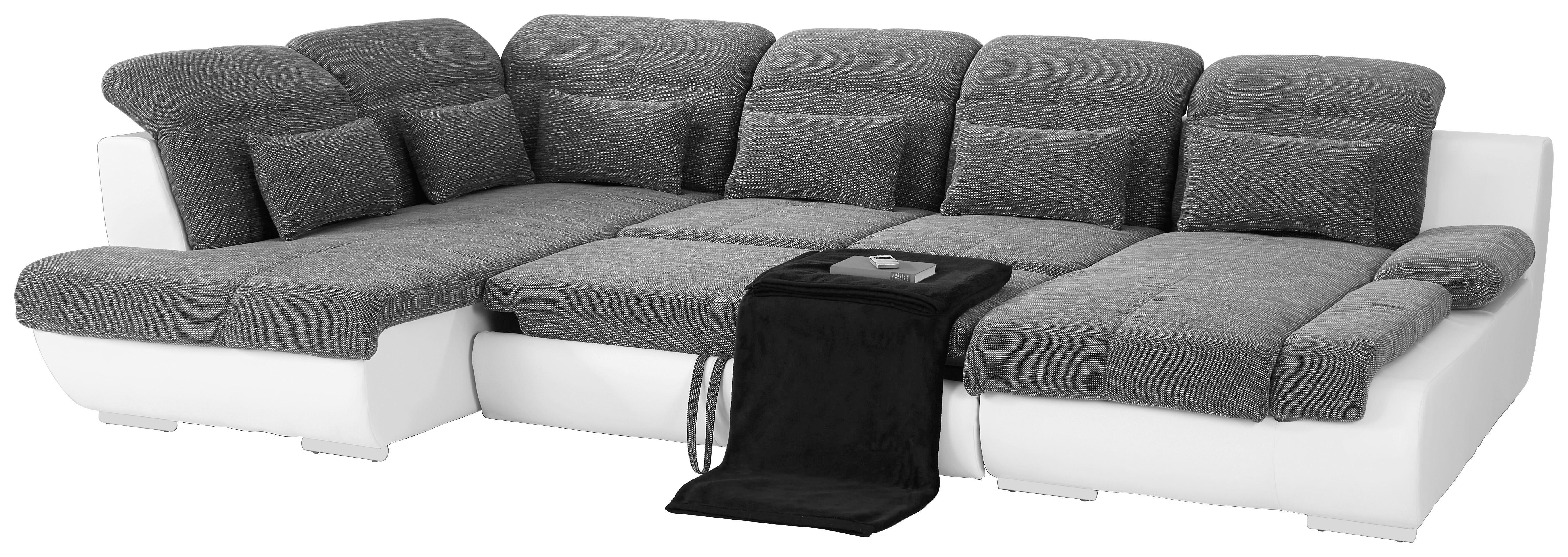 Sedací Souprava Multi - tmavě šedá/béžová, Moderní, textil (228/345cm)