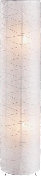 Svjetiljka Podna Lilly - bijela, Konvencionalno, papir/metal (27,5/120cm) - OMBRA
