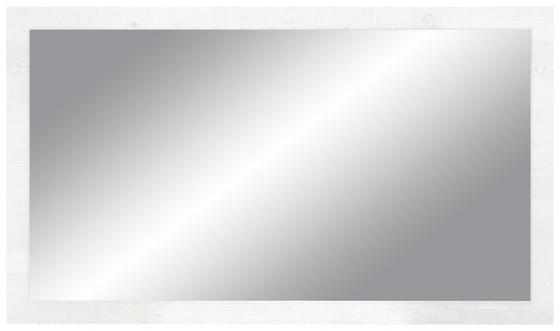 Zrcadlo Duro - barvy pinie, dřevěný materiál (120/70/1,8cm)