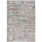 Hochflorteppich Bergamo, 200/290 - Weiß/Grau, MODERN, Textil (200/290cm)