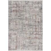 Hochflorteppich Bergamo, 80/150 - Weiß/Grau, MODERN, Textil (80/150cm)