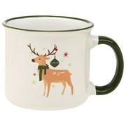 Kaffeebecher Sabine - Rot/Multicolor, MODERN, Keramik (8,5/8cm) - Luca Bessoni