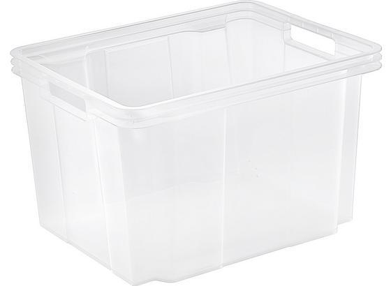 Uskladňovací Box Cenový Trhák - transparentné, plast (34.4/21.3/27.0cm) - Based