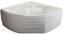 Eckwanne Riviera mit Schürze - Weiß, KONVENTIONELL, Kunststoff (150/150/47,5cm)