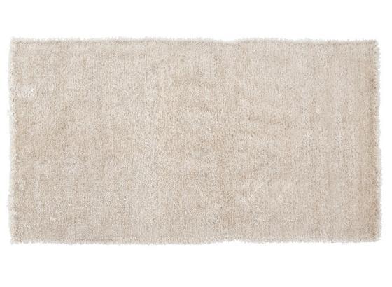 Vorleger Dora 70x140 cm - Weiß, KONVENTIONELL, Textil (70/140cm) - Ombra