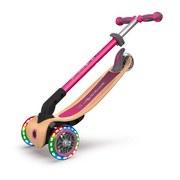 Scooter 436-110 Globber B: 56 cm Pink - Pink/Birkefarben, Basics, Holz/Kunststoff (56/77,5cm)