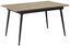 Rozkadací Stôl Vivian - farby dubu, Moderný, kov/drevo (90/76/140/180cm) - Mömax modern living