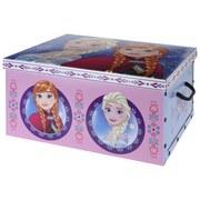 Aufbewahrungsbox Frozen - Blau/Rosa, Papier/Kunststoff (49,5/39/24cm) - Disney