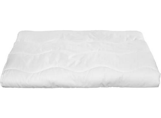 Přikrývka Zilly - bílá, textilie - Based