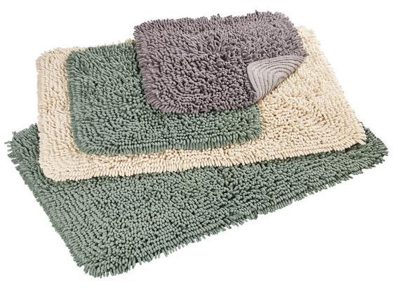 Předložka Koupelnová Jenny Ca. 60x90cm - zelená, textil (60/90cm) - Mömax modern living