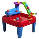 Ballspieltisch Entdecker B: 76 cm - Rot/Multicolor, Basics, Kunststoff (76/71/77,5cm)