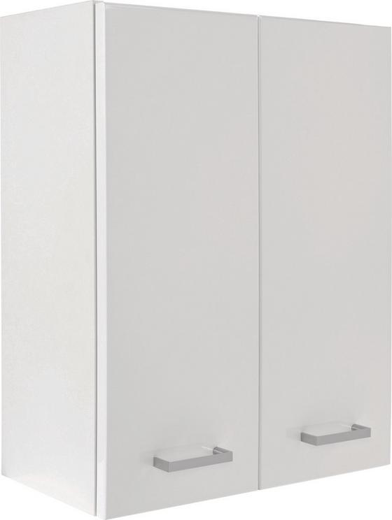 Faliszekrény Fiola - Fehér, konvencionális, Faalapú anyag (50/60/21,6cm)