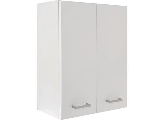 Závesná Skrinka Fiola - biela, Konvenčný, kompozitné drevo (50/60/21,6cm)