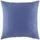 Dekoračný Vankúš Zippmex -based- -top- - modrá, textil (50/50cm) - Based