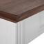 Jídelní Stůl Melanie - bílá/barvy borovice, Moderní, dřevo (150/80/80cm) - Mömax modern living