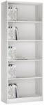 Regál 4-you Yur03 - biela, Moderný, drevo (74/189,5/35,2cm)