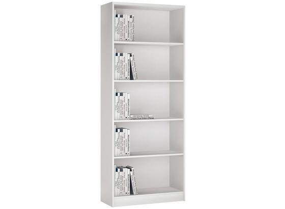 Regál 4-you Yur03 - bílá, Moderní, dřevo (74/189,5/35,2cm)